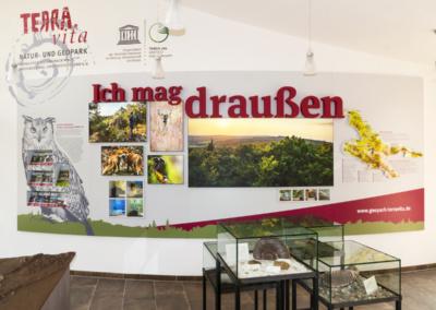 Terra Vita Ausstellungswand, LaGa 2018